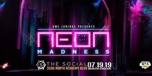 """U.W.E JUNIORS PRESENTS: Neon Madness """"U.W.E Juniors 1 Yr Anniversary Party"""""""