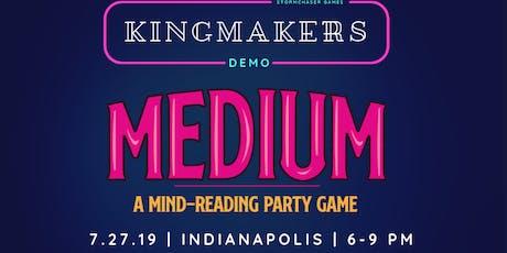 Free Game Demo: Medium (Indianapolis) tickets