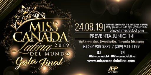 Gala final 2019 Miss Canada Latina
