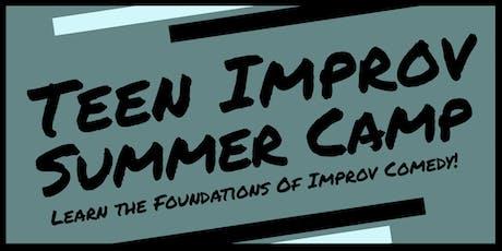 Teen Improv Summer Camp tickets