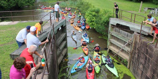 Evening Pedal & Paddle at Lock 60