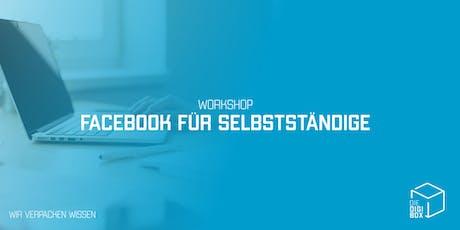 Workshop: Facebook für Selbstständige Tickets