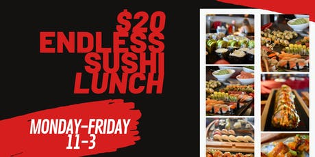 Endless Sushi Lunch tickets