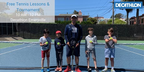 Free Tennis Lessons & Tournament with YTA  tickets