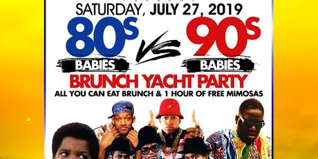 80s vs 90s Babies Brunch On The Sea tickets