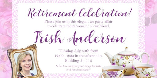 Trish Anderson's Retirement Party!