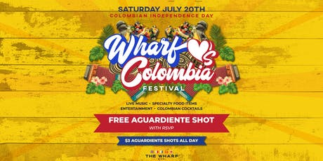 Wharf Loves Colombia Festival - Colombian Independence Day tickets