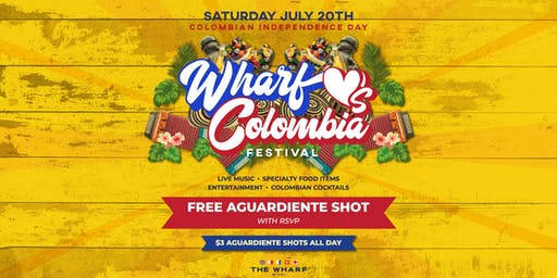 Wharf Loves Colombia Festival - Colombian Independence Day