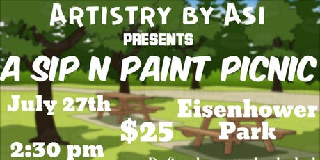 Sip N Paint Picnic tickets