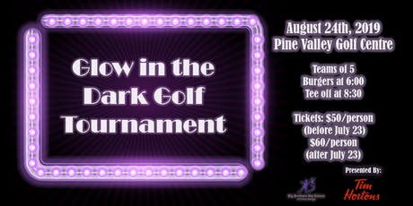 Glow in the Dark Golf Tournament tickets