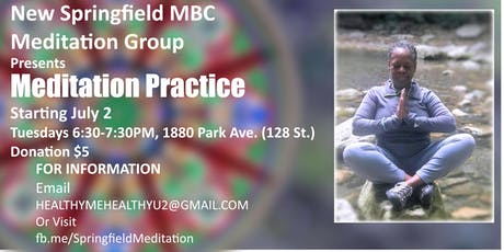New Springfield MBC Meditation Group tickets