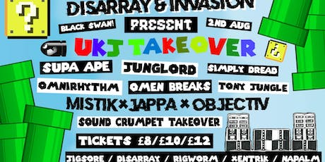 DISARRAY x INVASION PRESENT 'BATTLE OF THE BEASTS' [4HR UKJ TAKEOVER] tickets