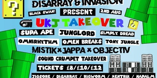 DISARRAY x INVASION PRESENT 'BATTLE OF THE BEASTS' [4HR UKJ TAKEOVER]