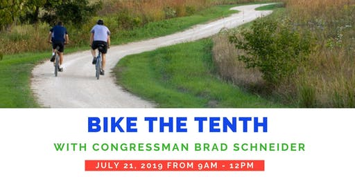Bike the Tenth with Congressman Schneider 2019