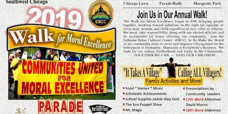 Walk for Moral Excellence tickets