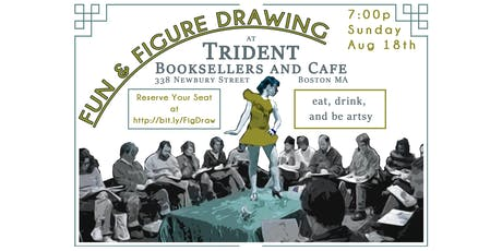 Fun & Figure Drawing @ Trident Cafe tickets