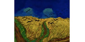 Van Gogh's Wheatfield with Crows - Paint & Sip Night -...