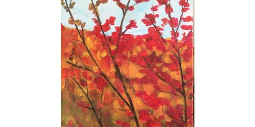 Fall Colours by Tom Thomson Paint & Sip Night - Art Painting, Drink & Food
