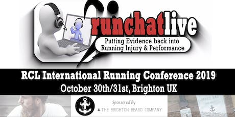 RCL International Running Conference 2019 tickets