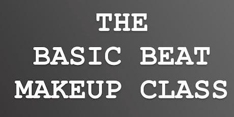 The Basic Beat makeup Class tickets