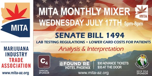 MITA AZ, Wednesday, July 17th at the Found:RE