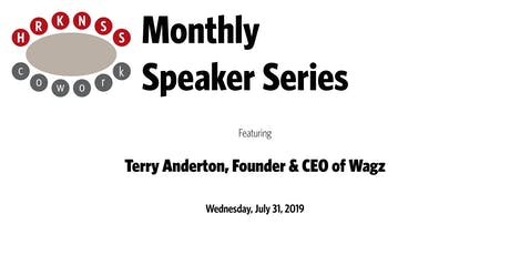 HRKNSScowork Monthly Speaker Series: Terry Anderton, Founder & CEO of Wagz tickets