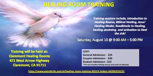Healing Room Training 8/10/19