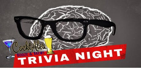 Tap That Thursday! TRIVIA Night and $1 off draft beer at CocktAles tickets