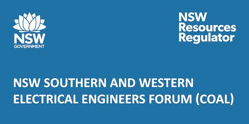 NSW Southern & Western Electrical Engineers Forum (coal)