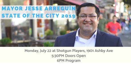 Mayor Arreguin's 2019 State of the City tickets