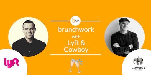 Lyft & Cowboy Ventures brunchwork