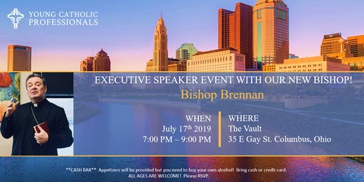 Special Executive Speaker Event: Bishop Brennan