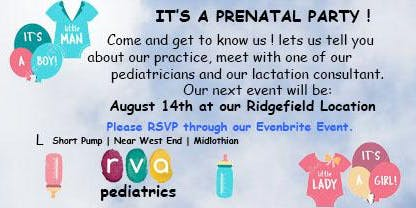 Prenatal Party (Ridgefield - West End)