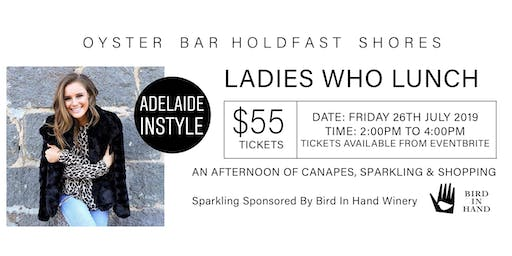 """Ladies Who Lunch """"An Afternoon of Canapes and Sparkling Wine"""""""