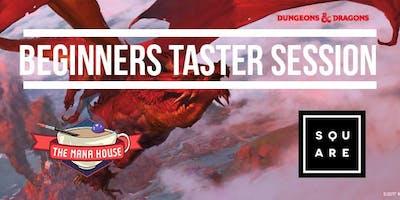 Dungeons & Dragons Taster Evening