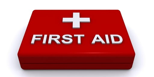 First aid for runners/volunteers