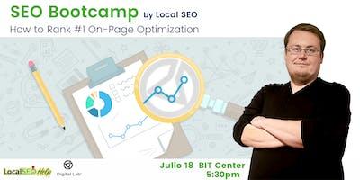 SEO BootCamp - Como posicionarte en los primeros lugares en los buscadores