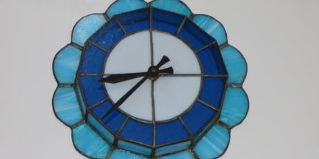 Advanced Beginning Stained Glass - Copper Foil Method - Clock! tickets