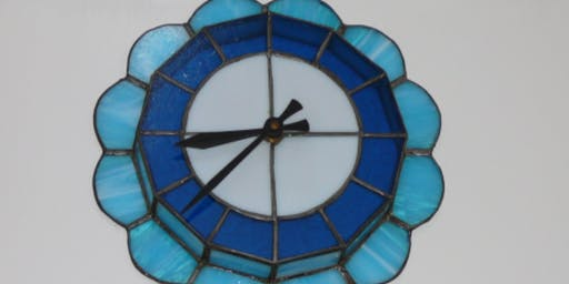 Advanced Beginning Stained Glass - Copper Foil Method - Clock!