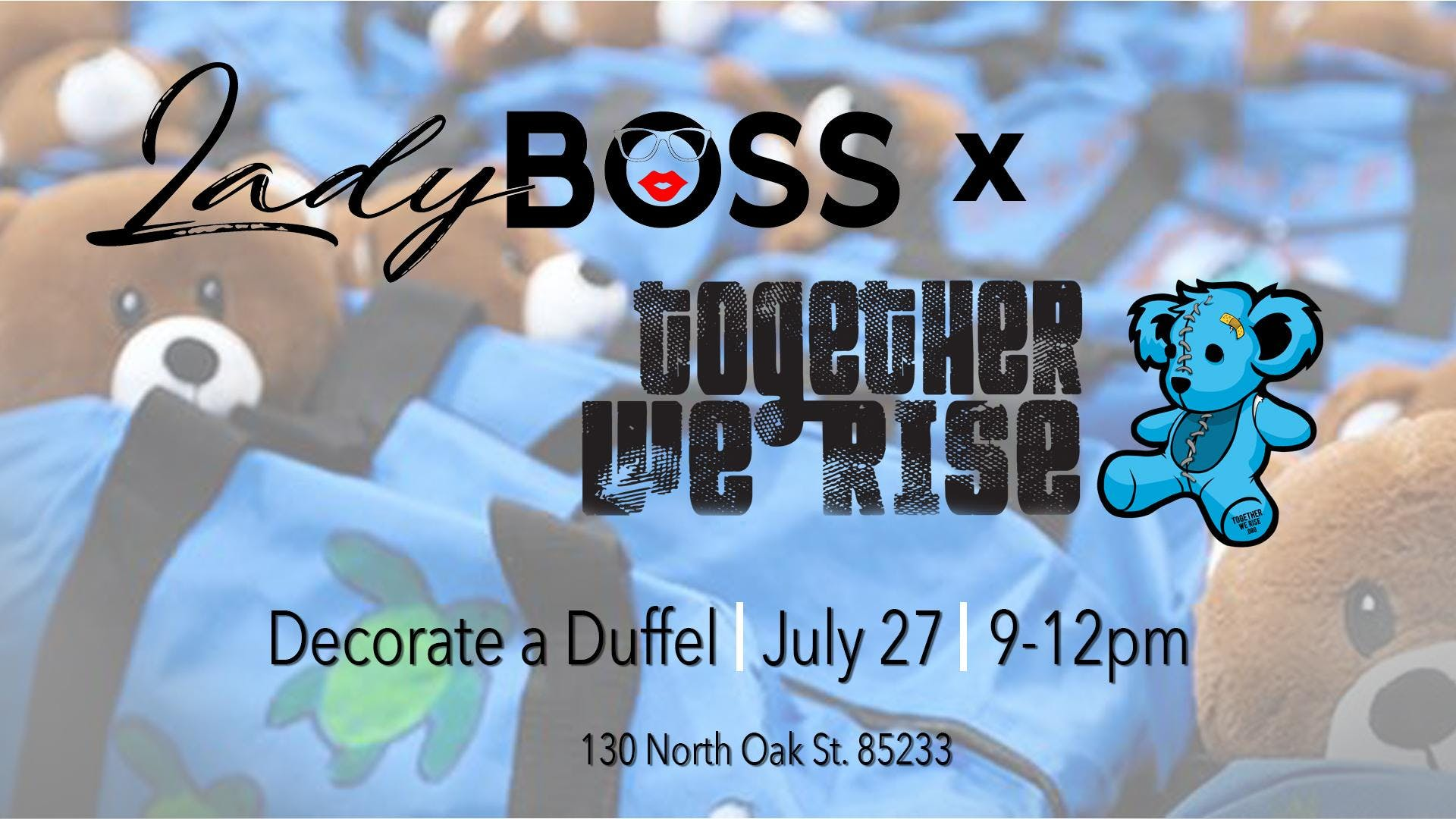 LadyBoss x Together We Rise Sweet Case Event
