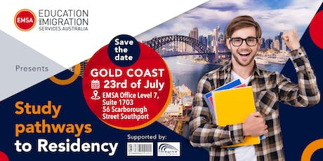 Study Pathways to Residency - Gold Coast | Supported by Imagine Education tickets