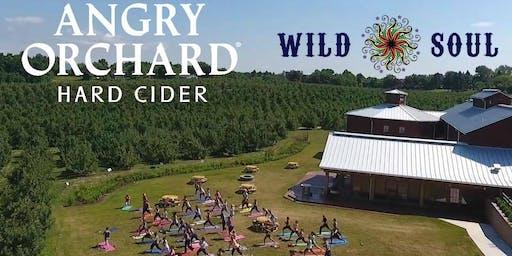 Yoga at Angry Orchard