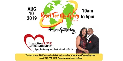Reset For My Glory Prayer Gathering