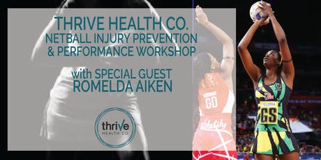 Thrive Netball Injury Prevention and Performance Workshop  tickets