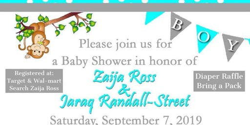 Zaija and Jaraq Baby Shower