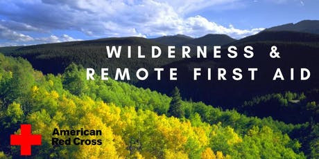 Wilderness & Remote First Aid tickets