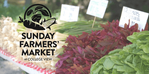 Sunday Farmers' Market at College View