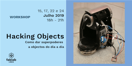 Hacking Objects bilhetes