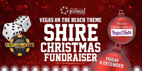 Vegas on the Beach - Shire Christmas Fundraiser tickets