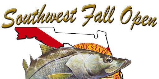 Fall Open fishing tournament